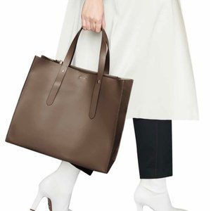 REISS Swaby Leather Tote, NEW WITH TAGS
